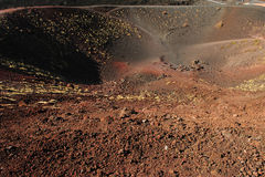 Etna crater 2 Stock Photo