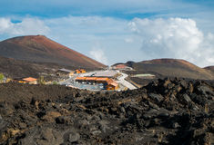 Etna crater Royalty Free Stock Images
