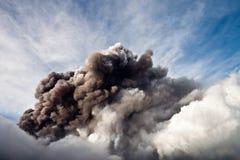 Etna eruption royalty free stock images