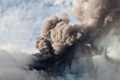 Etna eruption Royalty Free Stock Photo
