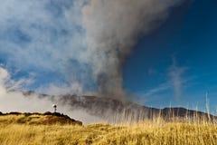 Etna eruption Royalty Free Stock Photos
