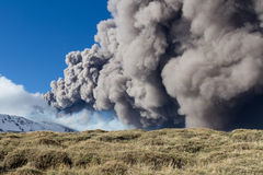 Etna eruption Stock Image