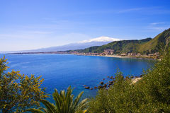 Free Etna From Taormina Royalty Free Stock Images - 13660849