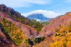 etna góry Zdjęcie Royalty Free