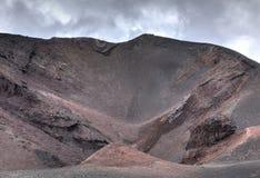 Etna krater Royaltyfri Foto