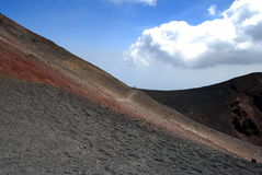Etna landscape Royalty Free Stock Photo