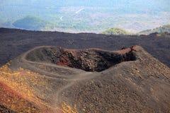 Etna landscape. Photo of Etna landscape in sicily, Italy stock photography