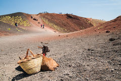 Etna landskap Royaltyfri Fotografi