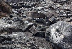 Etna lava Royalty Free Stock Image