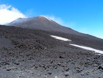 Etna Mount ITALIEN Royaltyfri Foto
