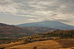 Etna Mount Volcano lizenzfreie stockfotografie