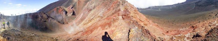 Etna mountain Stock Photos