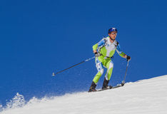 Etna Narciarski Alp - Światowy 2012 mistrzostwa Międzynarodowy trofeum Etna Obrazy Stock