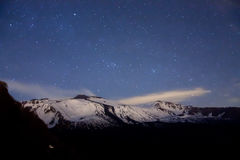 Etna by night Stock Photography
