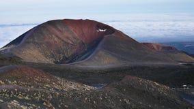 Etna no dia ensolarado Fotos de Stock Royalty Free