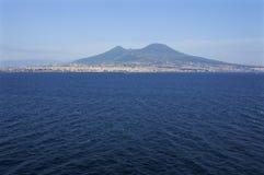 Etna od morza Zdjęcia Royalty Free