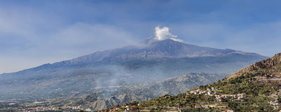 Etna pan Royalty Free Stock Photography
