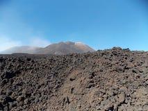 Etna poderoso fotografia de stock royalty free