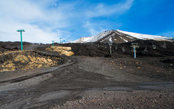 Etna royalty free stock image
