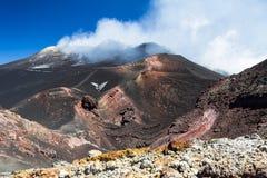 Etna Sicilia 2014 fotografering för bildbyråer