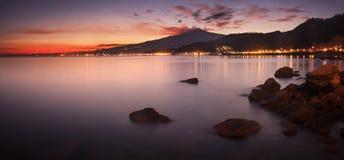 Etna, Sicilia fotografie stock libere da diritti