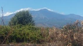 Etna Sicily stockbild