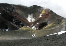 Etna, Sicily, Italy Royalty Free Stock Photos