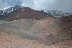 Etna,Sicily,Italy Royalty Free Stock Photography