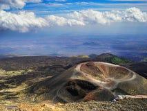 Etna Sicily magnífico imagem de stock