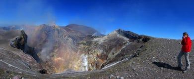 etna sicily vulkan Royaltyfria Bilder