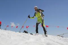 Etna Ski Alp - de Internationale Trofee Etna van het Wereldkampioenschap 2012 Stock Afbeeldingen