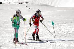 Etna Ski Alp - World Championship 2012 International Trophy Etna Royalty Free Stock Photos