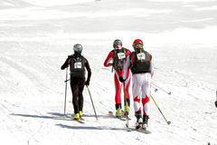 Etna Ski Alp - World Championship 2012 International Trophy Etna Stock Photo