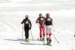 Etna Ski Alp - World Championship 2012 International Trophy Etna Stock Photo