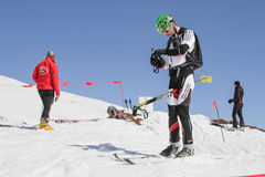 Etna Ski Alp - World Championship 2012 International Trophy Etna Royalty Free Stock Photo