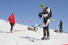 Etna Ski Alp - World Championship 2012 International Trophy Etna Royalty Free Stock Photo