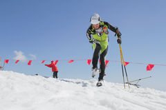 Etna Ski Alp - World Championship 2012 International Trophy Etna Stock Photography