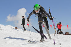 Etna Ski Alp - World Championship 2012 International Trophy Etna Royalty Free Stock Images