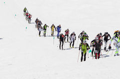 Etna Ski Alp - World Championship 2012 International Trophy Etna Stock Image