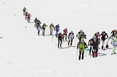 Etna Ski Alp - World Championship 2012 International Trophy Etna Stock Image