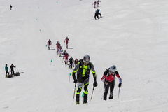 Etna Ski Alp - World Championship 2012 International Trophy Etna Royalty Free Stock Photos