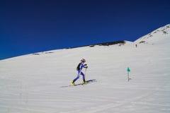 Etna Ski Alp - World Championship 2012 International Trophy Etna Stock Images