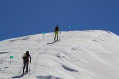 Etna Ski Alp - World Championship 2012 International Trophy Etna Royalty Free Stock Images