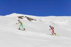 Etna Ski Alp - World Championship 2012 International Trophy Etna Royalty Free Stock Photography