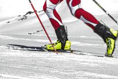 Etna Ski Alp - World Championship 2012 International Trophy Etna Royalty Free Stock Image
