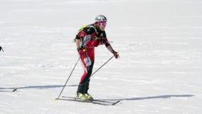 Etna Ski Alp - World Championship 2012 International Trophy Etna stock video footage