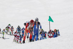 Etna Ski Alp - World Championship 2012 International Trophy Etna Stock Images