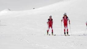 Etna Ski Alp - World Championship 2012 International Trophy Etna stock video
