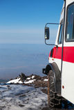 On Etna slope, Sicily, Italy. Royalty Free Stock Images
