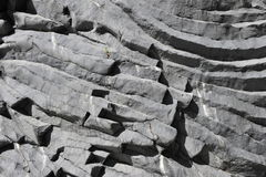 Etna, Solidified Lava Layers. Solidified lava layers in the Alcantara gorge, close to the volcano Etna in Sicily, South-Italy Can be used as background royalty free stock image